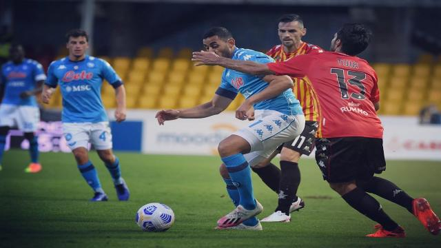 Benevento-Napoli 1-2, highlights