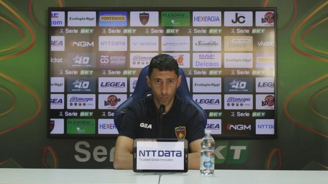 """Cosenza-Monza 0-3, le voci di Occhiuzzi (""""Col Pordenone battaglia da veri Lupi"""") e Brocchi"""