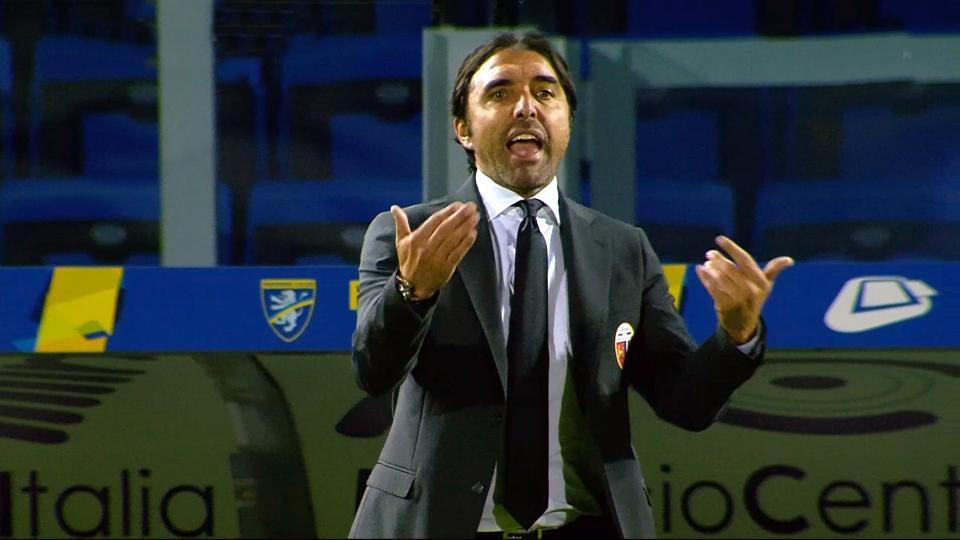 """Frosinone-Ascoli 1-0, Bertotto: """"Sono molto arrabbiato, siamo venuti qui a dettare legge"""""""