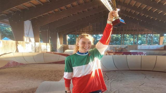 Federciclismo Marche, plauso per titolo italiano pump track di Rinaldoni e convocazione ai Mondiali per Ciabocco