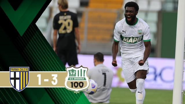 Parma-Sassuolo 1-3, highlights
