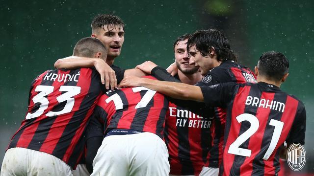 Milan-Spezia 3-0, highlights