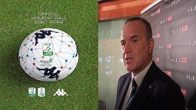 """Serie B 2021/2022, presentato nuovo pallone ufficiale. Balata sul pubblico: """"Si può prevedere apertura al 50%"""""""