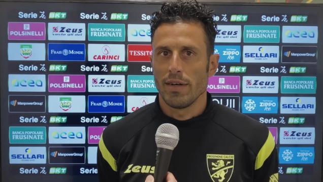 """Frosinone-Pisa 3-1, le voci di Grosso (""""Campionato strano, non dobbiamo fermarci"""") e D'Angelo"""