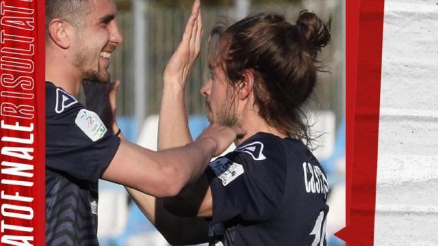 Entella-Cremonese 0-2, grigiorossi trascinati da Gaetano e Castagnetti (autore di un gol pazzesco)