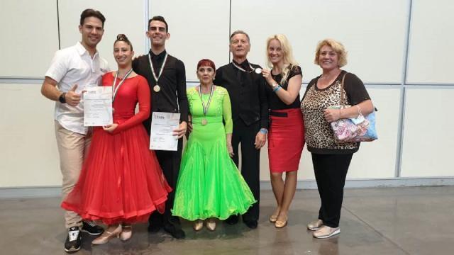 Danza sportiva, bene la  Pol.Ita Dance School Monteprandone ai Campionati Italiani