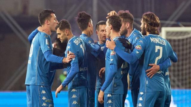 Empoli-Salernitana 5-0, monologo azzurro e fuga solitaria in testa alla classifica