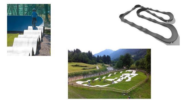 Grottammare, un pump track nel parco ciclistico ''Calise''