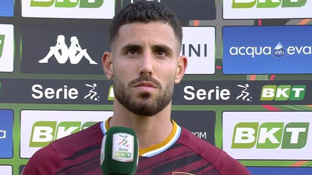 """Ascoli-Salernitana 0-2, Tutino: """"Abbiamo vissuto attimi di paura. Dedichiamo vittoria a Patryk"""""""