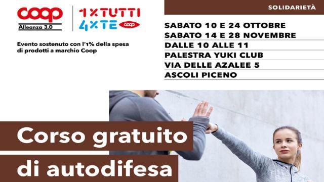 Ascoli Piceno, ancora aperte iscrizioni per corso autodifesa alla Palestra Yuki Club