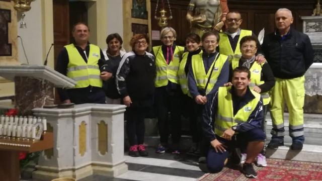 Unione Sportiva Acli, ottava edizione ''Camminata di sudendre per San Benedetto Martire''
