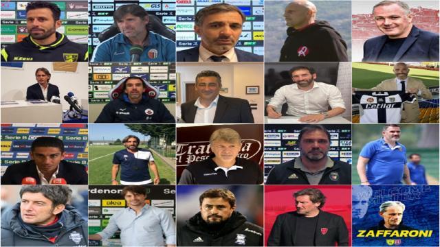 Serie B 2021/2022, completato il quadro delle 20 panchine. Baroni tecnico più esperto, Modesto il più giovane
