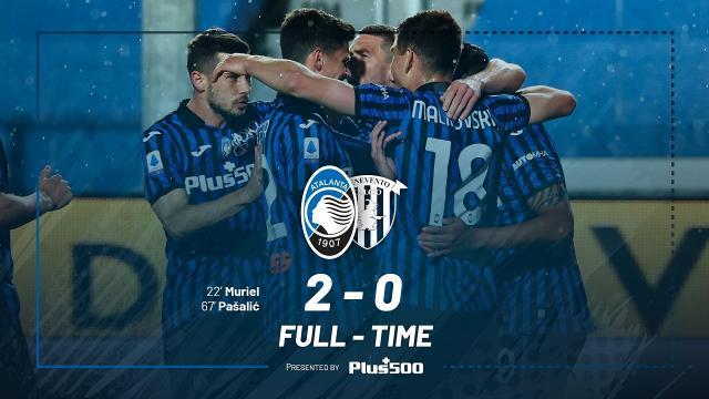 Atalanta-Benevento 2-0, highlights