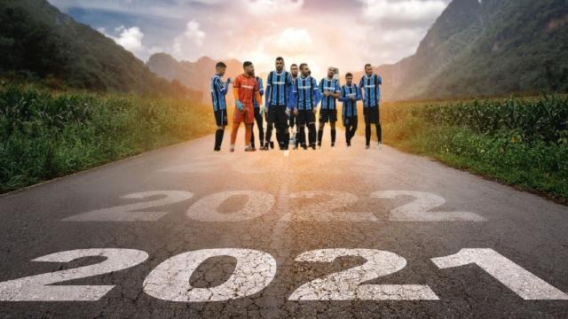 """Atletico Ascoli, """"Che sia un 2021 pieno di gioie con la speranza di poter tornare presto a battagliare in campo"""""""