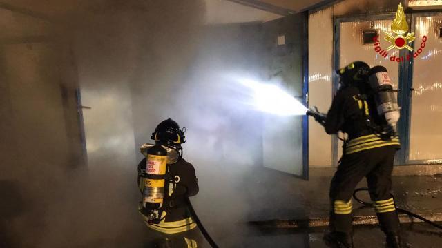Ancona, domato incendio al porto turistico ''Marina Dorica''