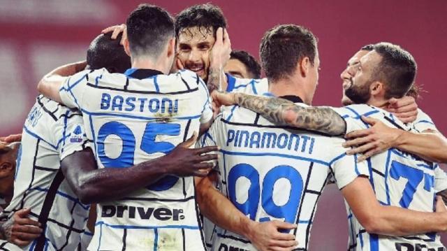 Genoa-Inter 0-2, highlights