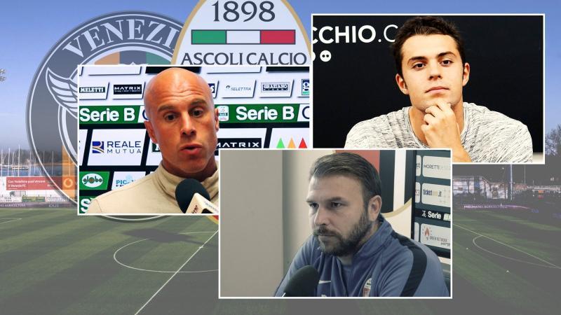 Venezia-Ascoli: sulla strada dei bianconeri gli ex Zanetti, Soncin e Felicioli