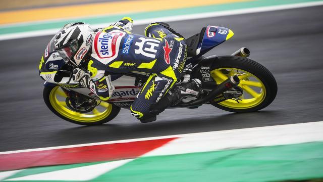 Moto3, Fenati parte nelle retrovie a Misano: ''Speriamo che in gara non piova''