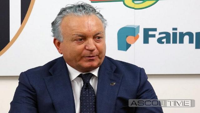 """Ascoli Calcio, Pulcinelli: """"Smentisco possibile scambio proprietà con Salernitana. Ci tuteleremo in sedi legali"""""""