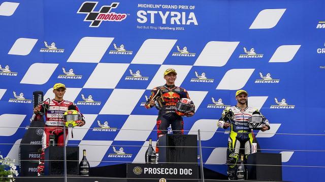 Moto3: Gran Premio di Stiria, l'ascolano Fenati conquista il secondo podio consecutivo