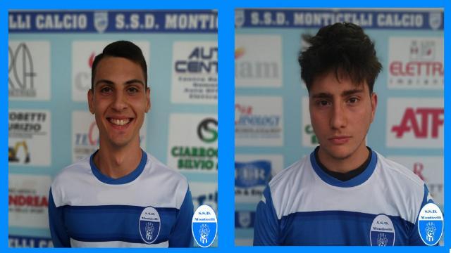 Monticelli Calcio, tornano in prima squadra i classe 2002 Capriotti e Caringola