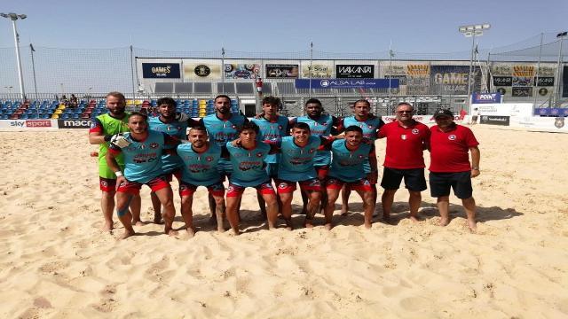Beach soccer, la Samb supera Nettuno per 7-2 nel primo turno di Coppa Italia