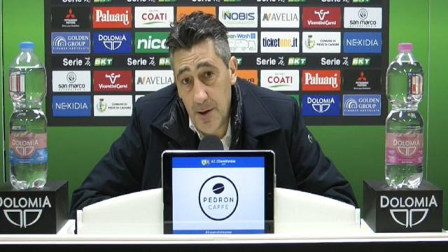Chievo-Monza 0-1: le voci di Aglietti, Campedelli (entrambi molto critici con l'arbitraggio) e Brocchi