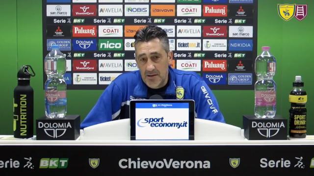 Chievo-Pisa 2-0, le voci di Aglietti e Taddei post gara