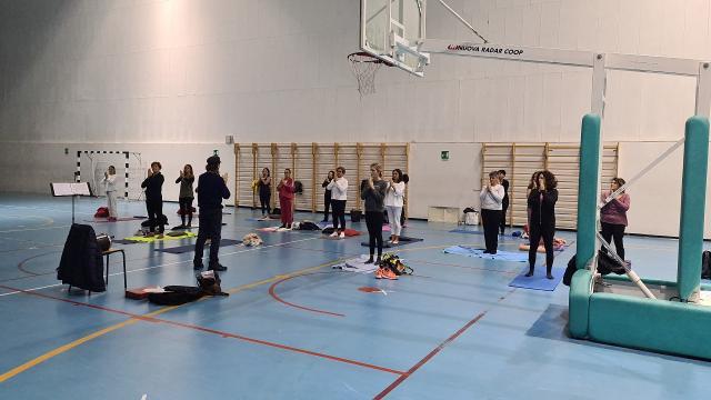 Unione Sportiva Acli Marche, successo per il corso di yoga olistico a Grottammare