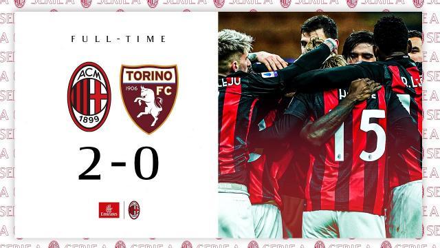 Milan-Torino 2-0, highlights