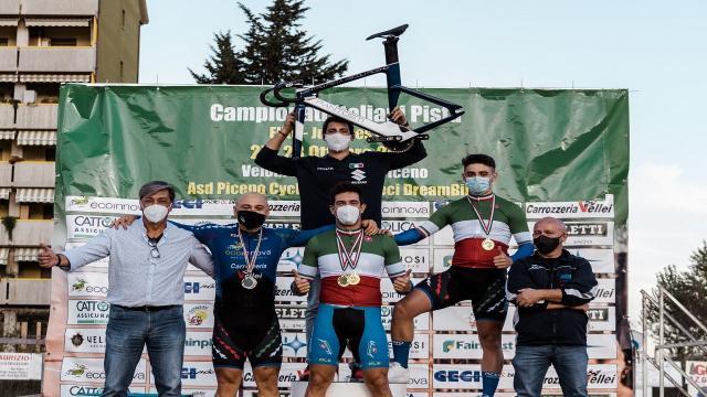 Ascoli Piceno: ciclismo su pista, protagonisti soddisfatti dopo la spettacolare rassegna tricolore