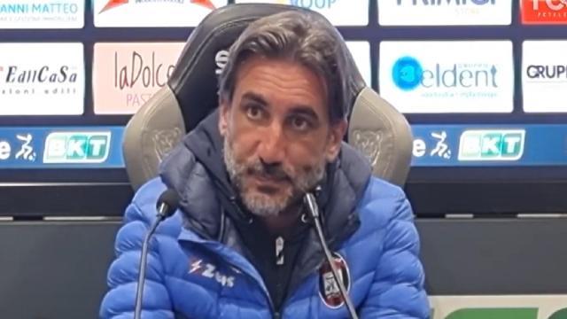 Alessandria-Crotone 1-0, le voci di Longo e Modesto (''Dobbiamo eliminare stupidaggini'')