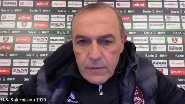 Salernitana-Ascoli 1-0, la voce di Castori post gara