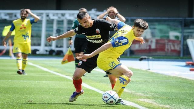 """Chievo-Ascoli 3-0, Eramo: """"Primo gol ci ha tagliato le gambe. Mio campionato è iniziato con Sottil e Polito"""""""