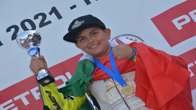 Motociclismo, il giovane castoranese Quitadamo vince il titolo europeo in Croazia