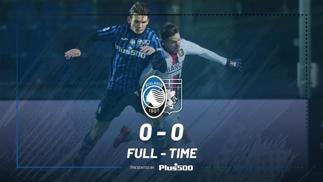 Atalanta-Genoa 0-0, highlights