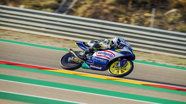 Moto3, Fenati dopo le prime libere ad Aragon: ''Soddisfatto di come abbiamo lavorato''