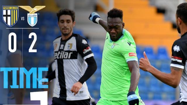 Parma-Lazio 0-2, highlights