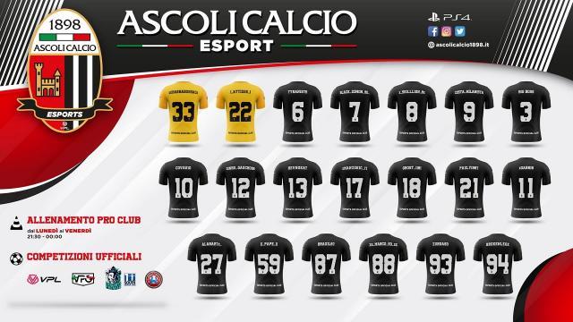 Ascoli Calcio: eSports, aperte iscrizioni per l'Ascoli Christmas Championship