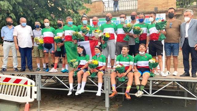 Ciclismo: ecco i nuovi campioni italiani FCI Mediofondo 2021 a Monte Urano