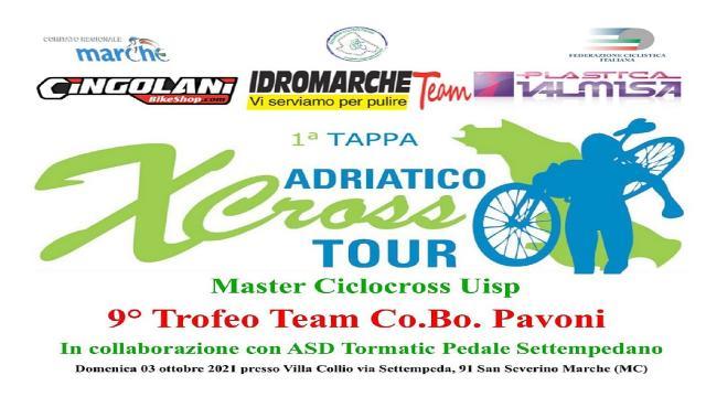 Trofeo Team Co.Bo. Pavoni, 180 iscritti a San Severino Marche per la prima dell'Adriatico Cross Tour