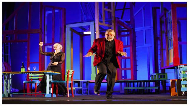 Ascoli: Teatro Ventidio Basso, ''Alle 5 da me'' con Gaia De Laurentiis e Ugo Dighero