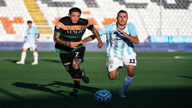 Entella-Venezia 0-2, seconda sconfitta consecutiva per i liguri in vista dell'Ascoli