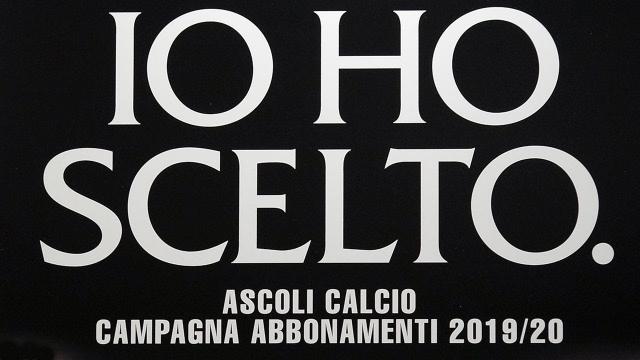 Ascoli Calcio: rimborso abbonamenti stagione 2019/2020, attivata piattaforma per richiedere voucher