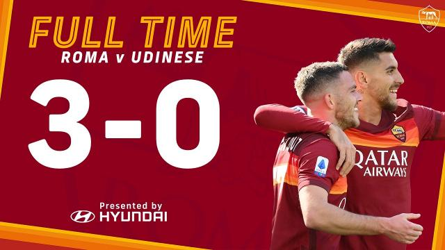 Roma-Udinese 3-0, highlights