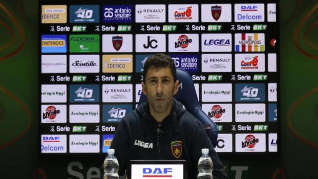 Cosenza-Lecce 1-1, le voci di Occhiuzzi e Corini post gara