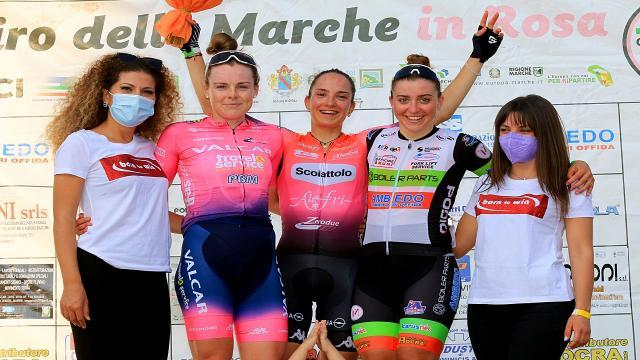 Ciclismo: Giro delle Marche in Rosa, a Villa Musone apertura nel segno di Giulia Giuliani