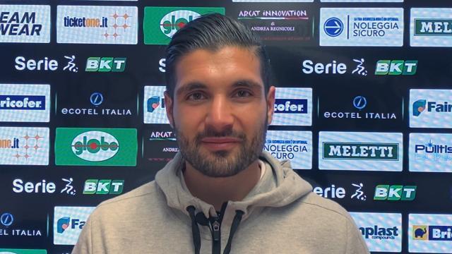"""Ascoli-Reggiana 2-1, la voce di Montagnolo (vice Alvini): """"Potevamo fare di più ma meritavamo il pari"""""""