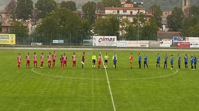 Atletico Ascoli, non basta la rete di Filiaggi per far punti ad Urbania nella prima in Eccellenza