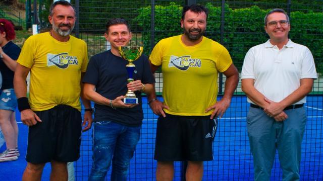 """Ascoli Piceno, ''La Grata Loca'' vince il torneo di padel """"Open Futura"""""""